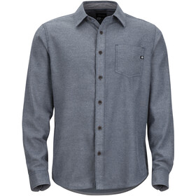 Marmot Hobson Midweight Flannel LS Shirt Herre dark indigo heather